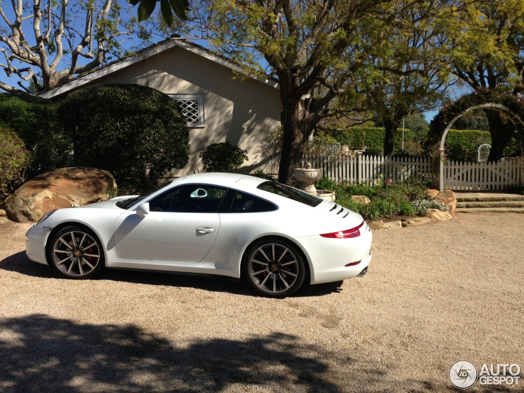 porsche 991 carrera 4s 14 august 2013 autogespot. Black Bedroom Furniture Sets. Home Design Ideas