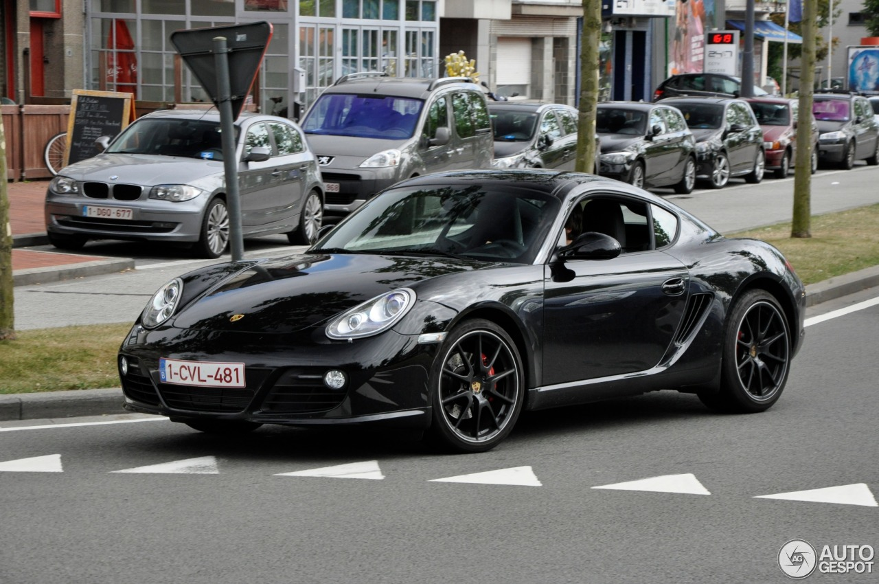 Porsche Cayman S Mkii Black Edition 14 August 2013