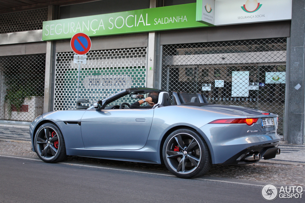 jaguar f type s v8 convertible 15 august 2013 autogespot. Black Bedroom Furniture Sets. Home Design Ideas