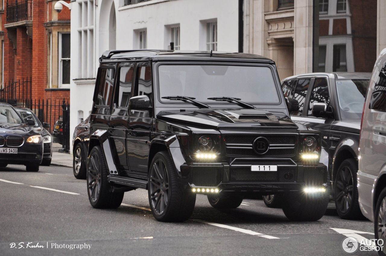 Mercedes-Benz Brabus G 63 AMG B63-620 - 15 August 2013 - Autogespot