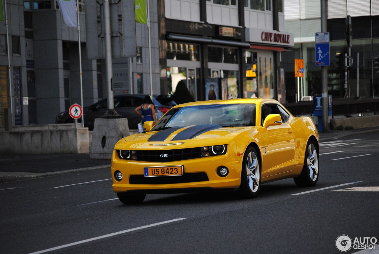 Chevrolet Camaro SS Transformers Edition - 16 August 2013 ...