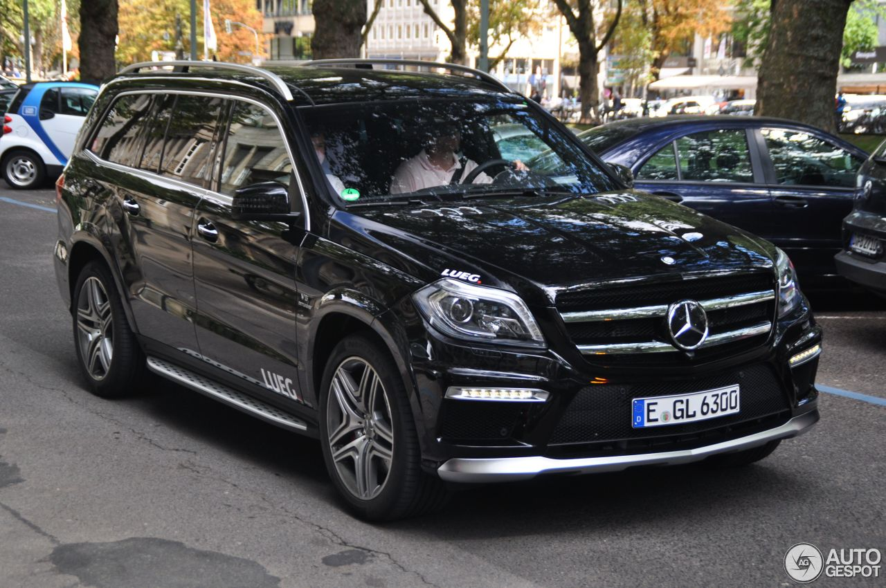 Mercedes Benz Gl 63 Amg X166 17 August 2013 Autogespot