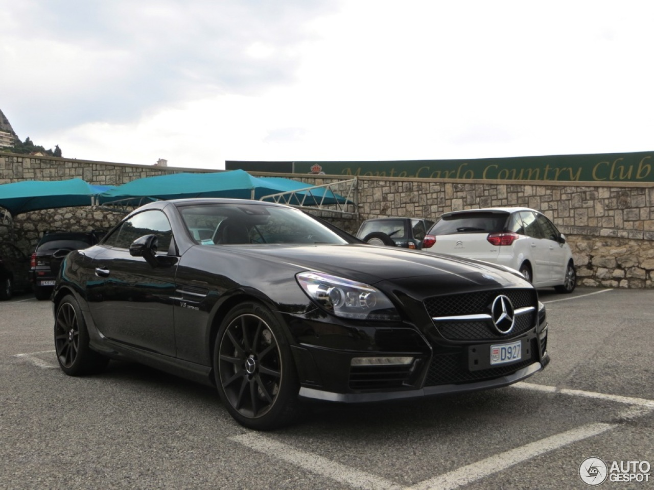 mercedes benz slk 55 amg r172 17 ao t 2013 autogespot. Black Bedroom Furniture Sets. Home Design Ideas