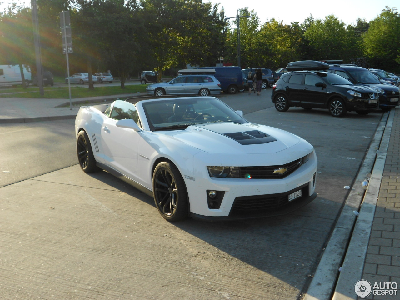 Chevrolet Camaro Zl1 Convertible 18 August 2013 Autogespot