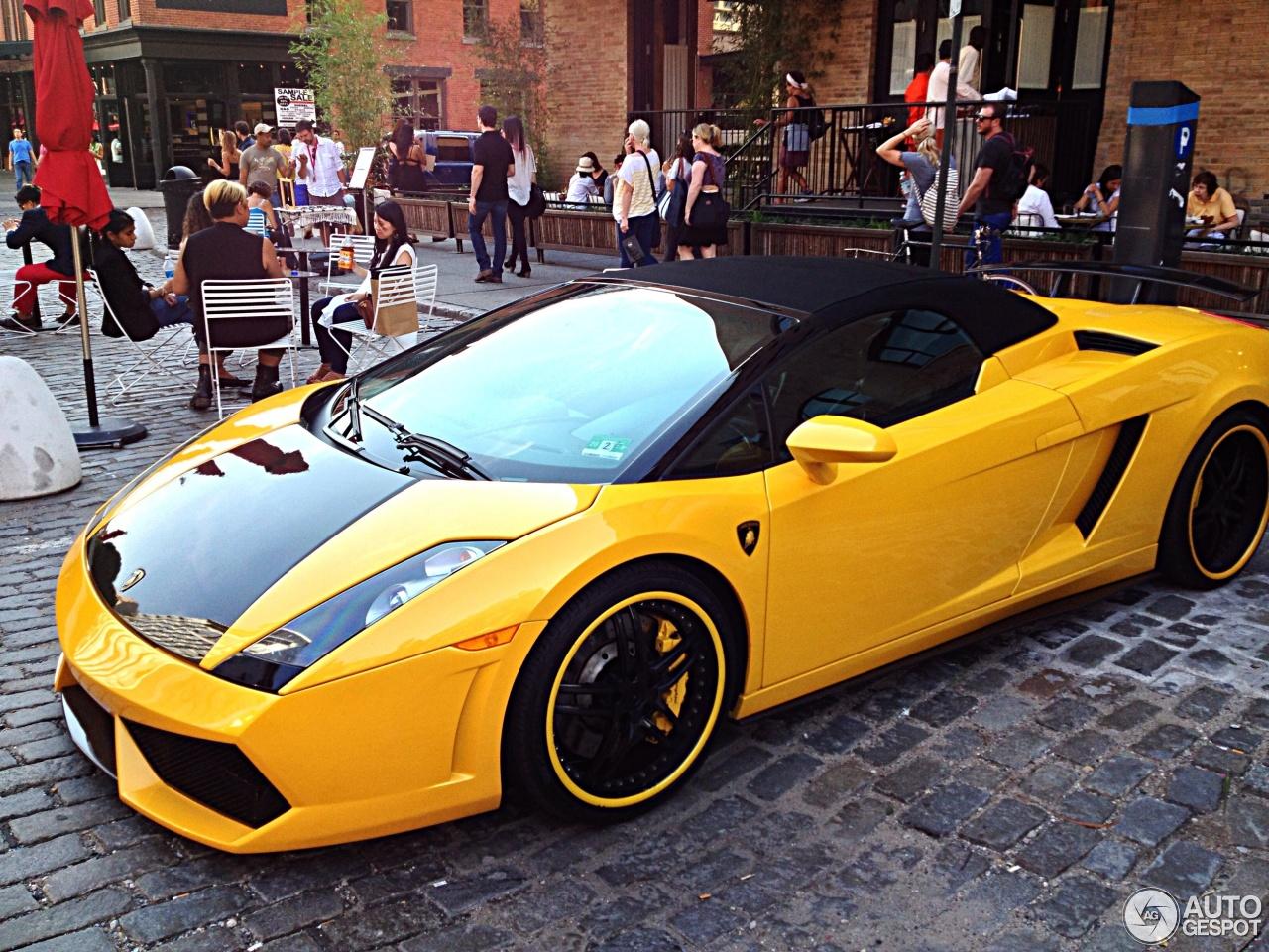 8 i lamborghini gallardo spyder 8 - Yellow Lamborghini Gallardo Spyder Wallpaper