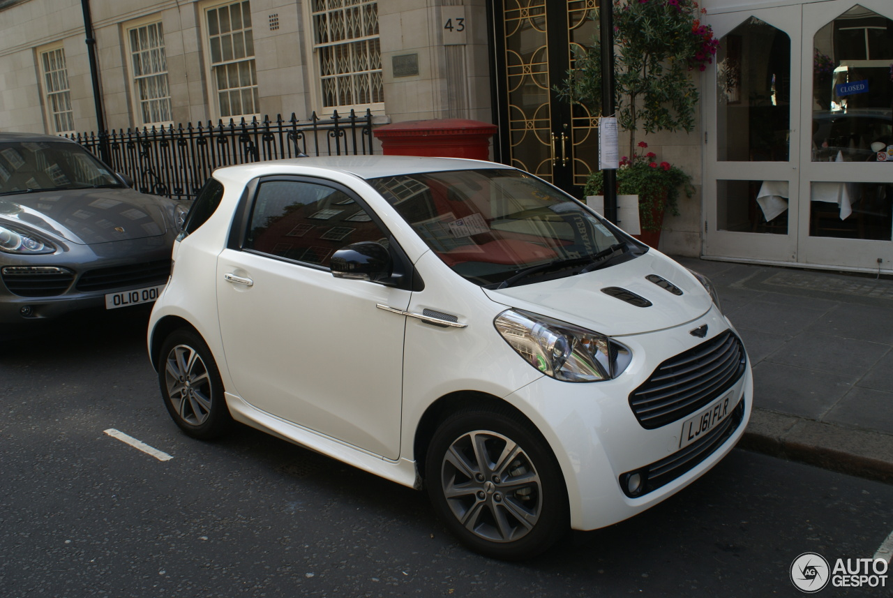 aston martin cygnet 21 august 2013 autogespot. Black Bedroom Furniture Sets. Home Design Ideas