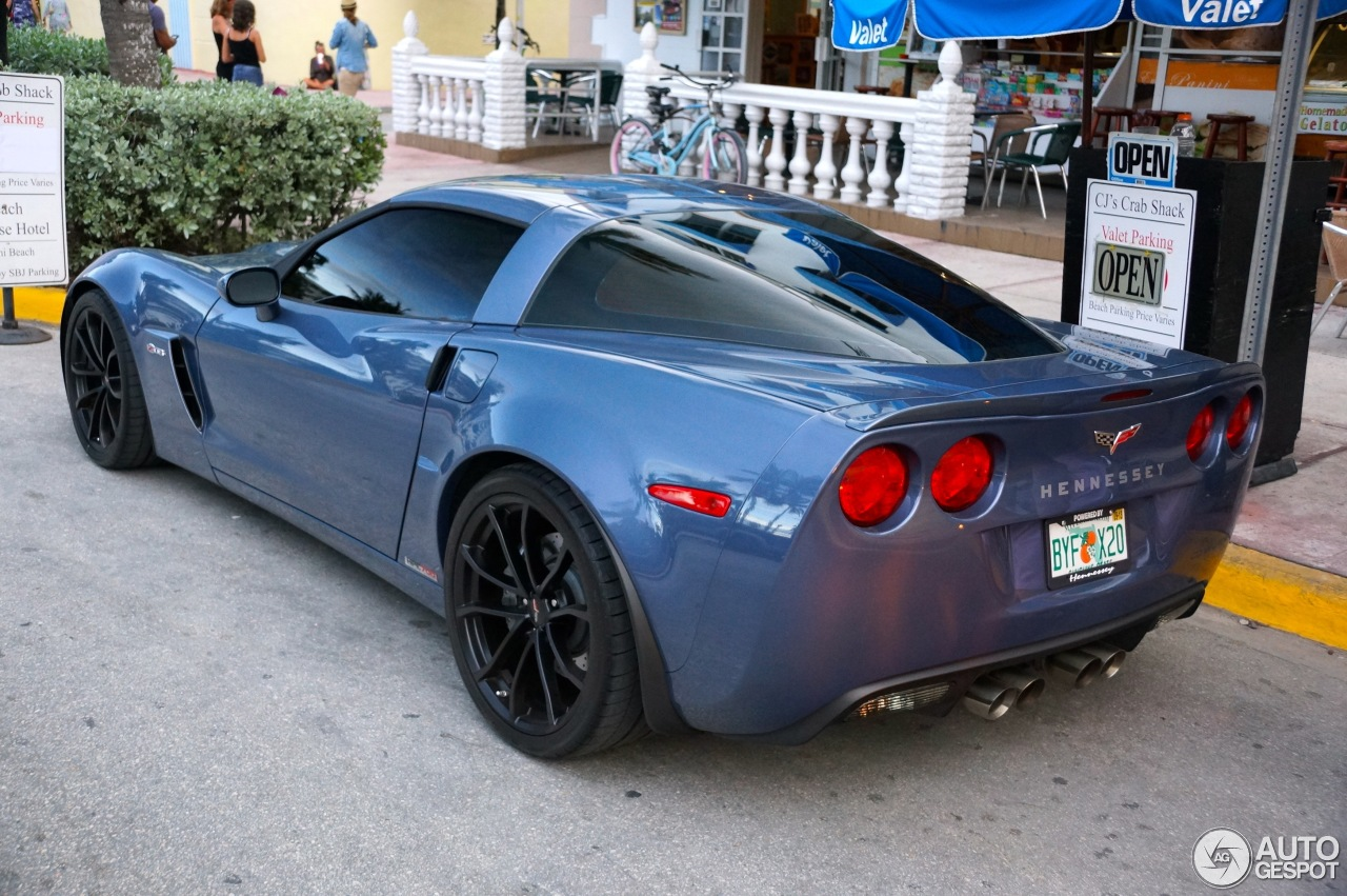 Chevrolet Corvette C6 Z06 Hennessey HPE700 Supercharged - 22