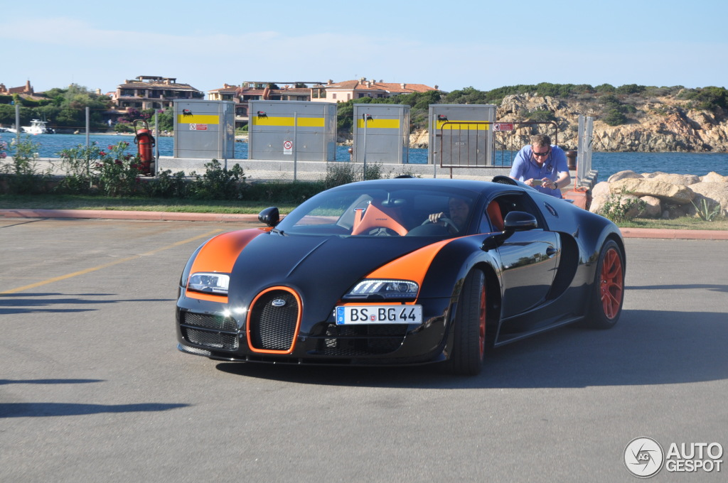 bugatti veyron 16 4 grand sport vitesse world record car edition 23 agosto 2013 autogespot. Black Bedroom Furniture Sets. Home Design Ideas