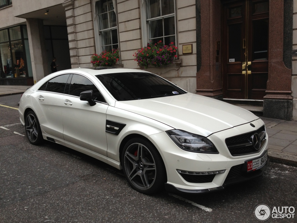 Mercedes Benz Brabus Cls B63 23 August 2013 Autogespot