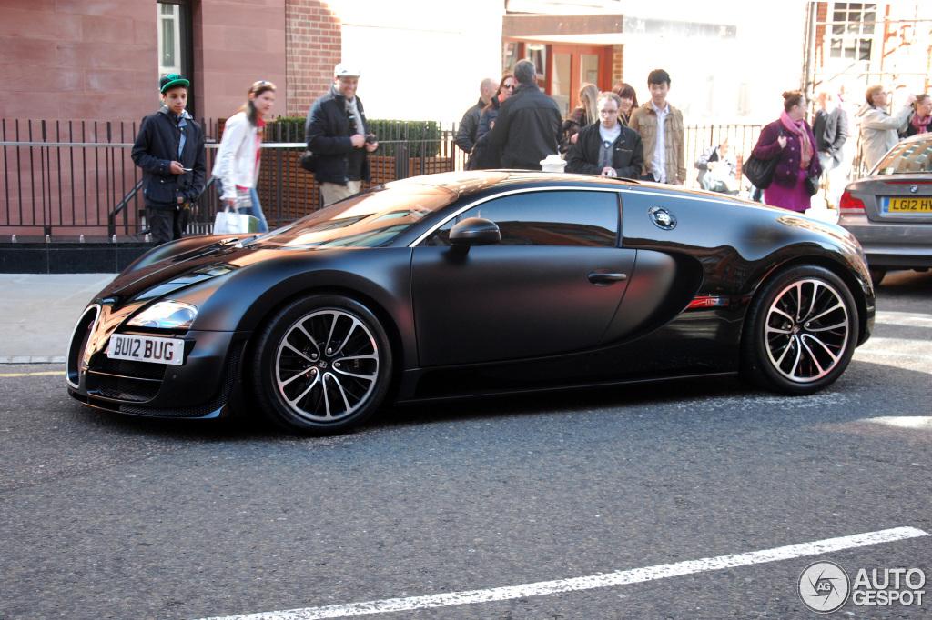 Bugatti Veyron 16 4 Super Sport Sang Noir 24 August 2013