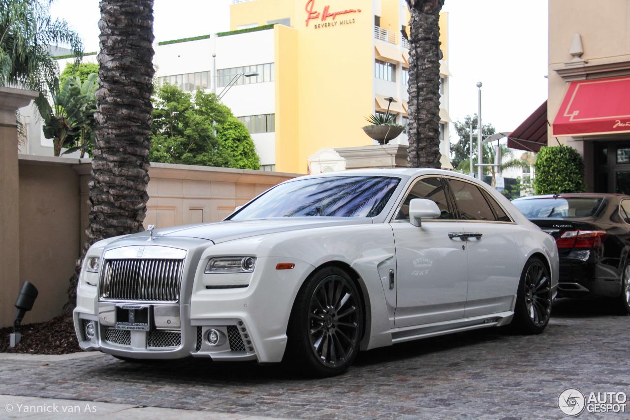 Rolls Royce Wald Ghost Black Bison Edition 24 August