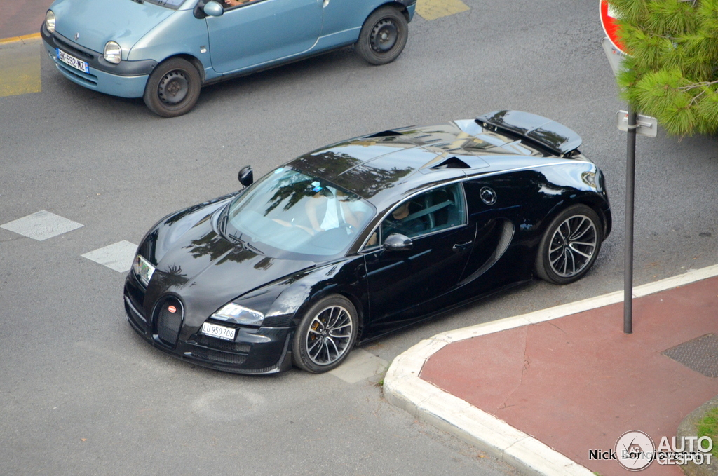 bugatti veyron 16 4 super sport 26 ao t 2013 autogespot. Black Bedroom Furniture Sets. Home Design Ideas