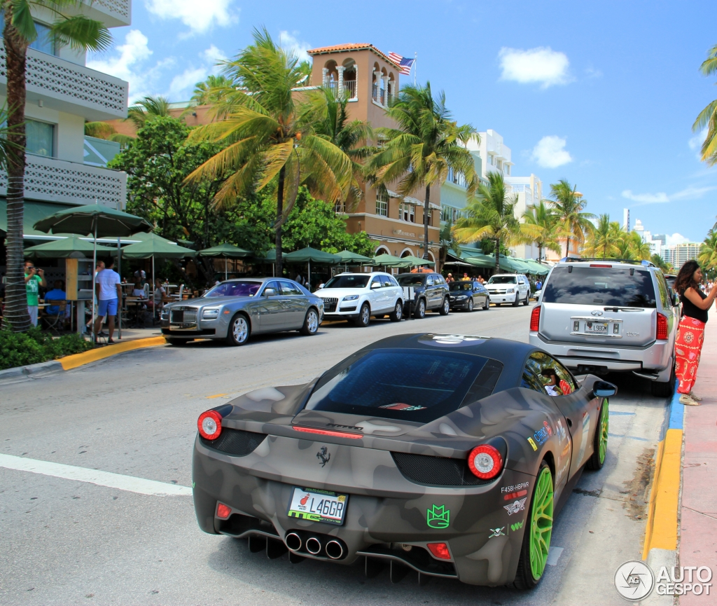 Meek Mill Ferrari 458 | www.pixshark.com - Images ...
