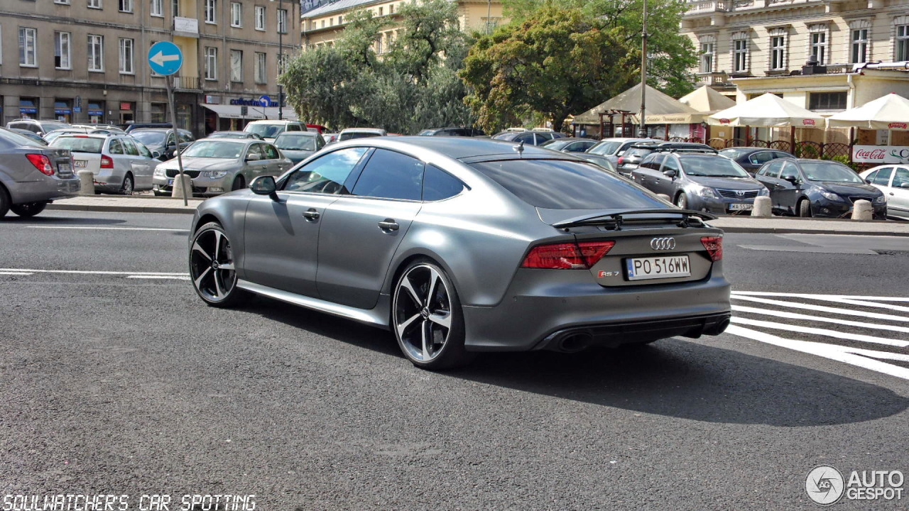 audi rs7 sportback 28 august 2013 autogespot. Black Bedroom Furniture Sets. Home Design Ideas