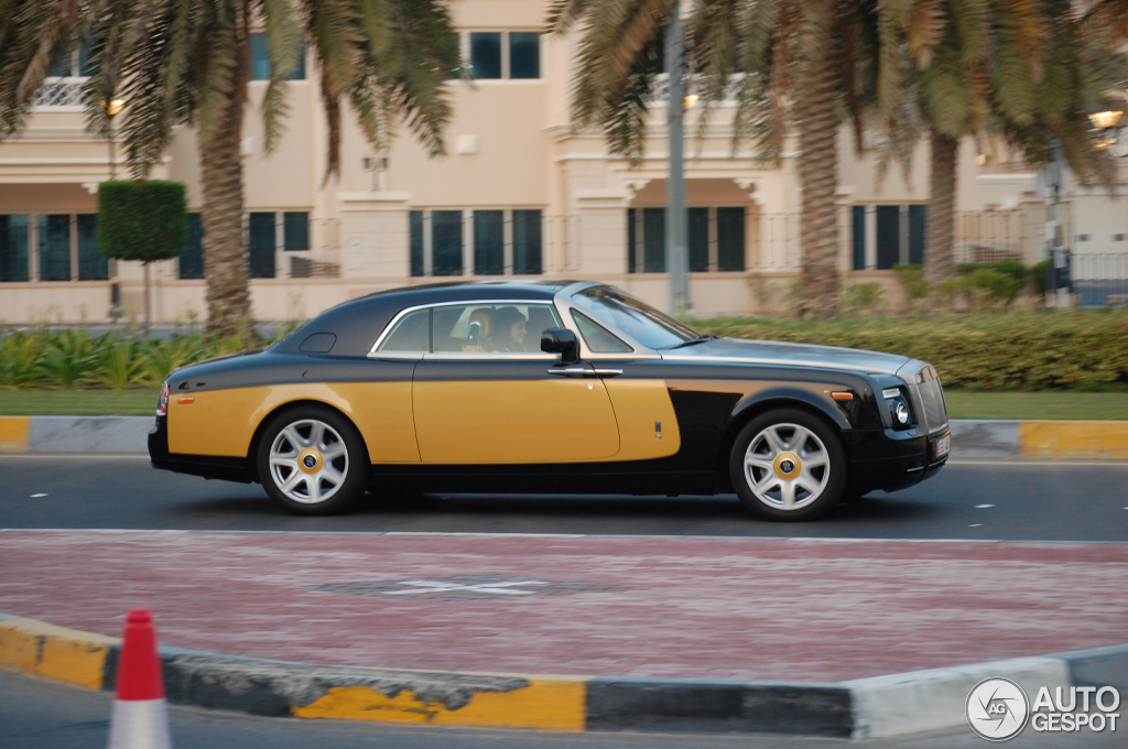 Rolls Royce Phantom Coup 233 Baniyas Gold Amp Baniyas Black