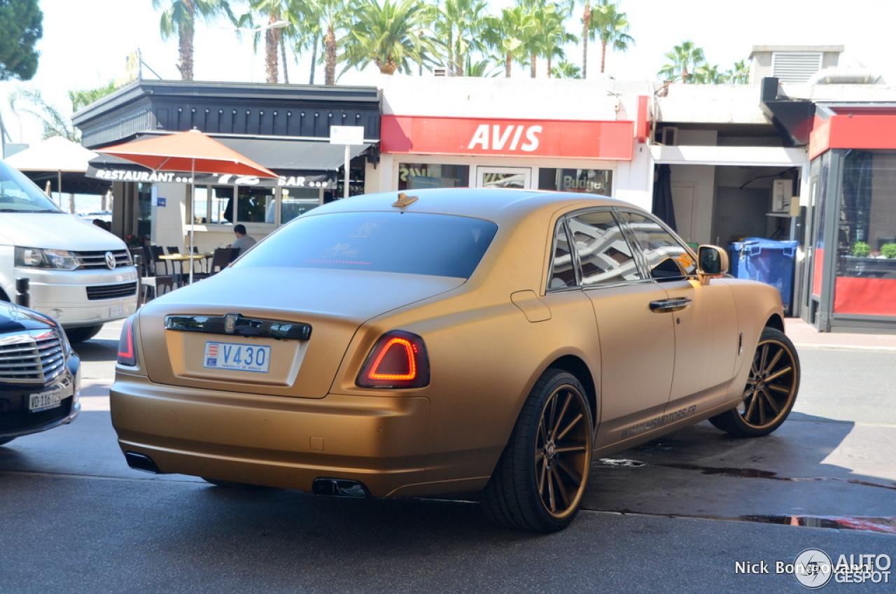 Rolls Royce Ghost 30 Ao T 2013 Autogespot