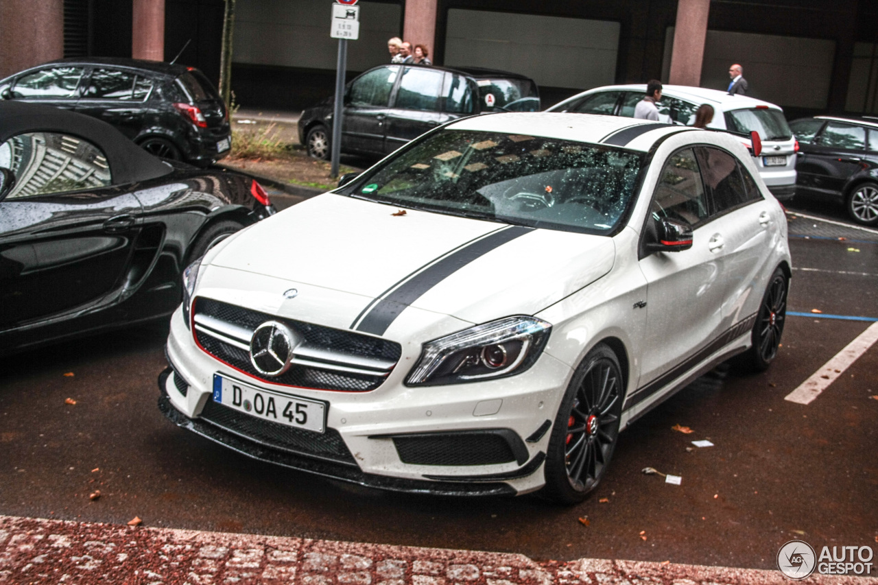 mercedes benz a 45 amg edition 1 31 august 2013 autogespot. Black Bedroom Furniture Sets. Home Design Ideas
