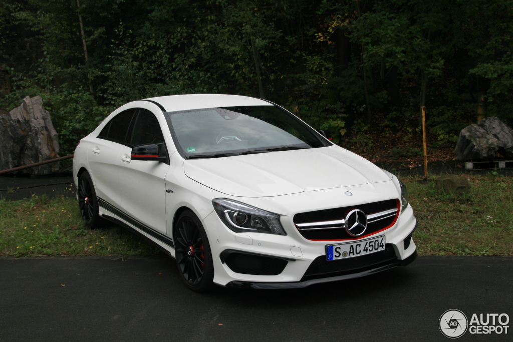 Mercedes benz cla 45 amg edition 1 c117 31 august 2013 for Mercedes benz cla 45 price