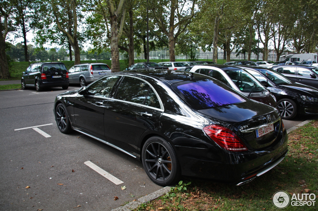 5 I Mercedes Benz S 63 Amg V222
