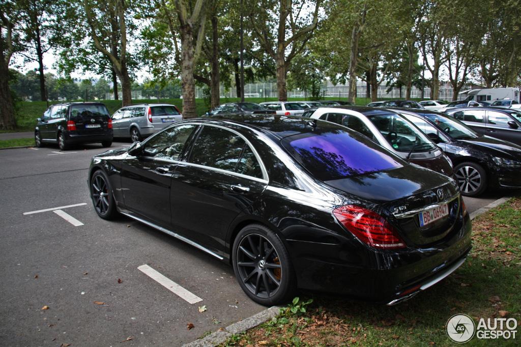 Mercedes Benz S 63 Amg V222 31 August 2013 Autogespot