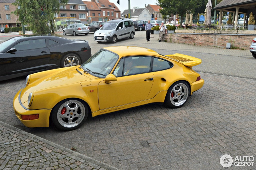 Porsche 964 Turbo S 3.3 Leichtbau IMSA - 1 September 2013 ...