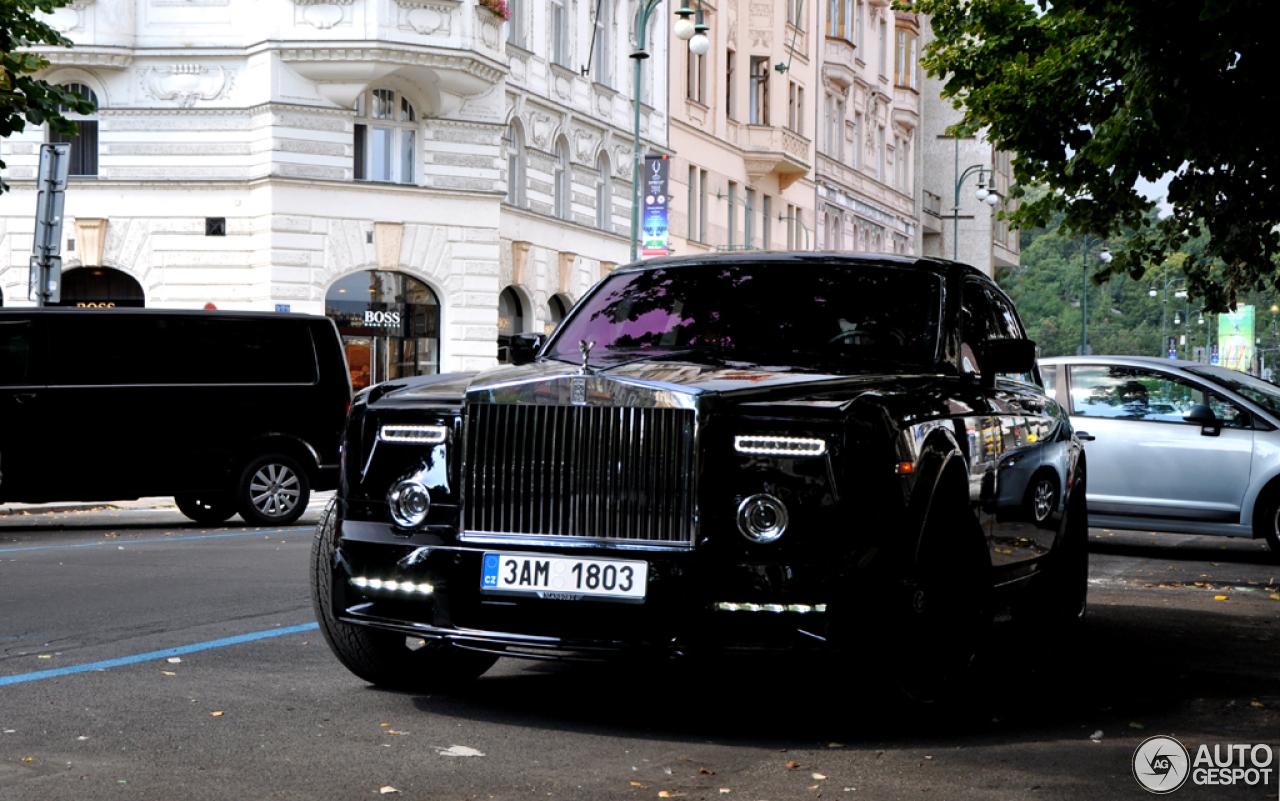 Rolls Royce Phantom Mansory Conquistador 1 September