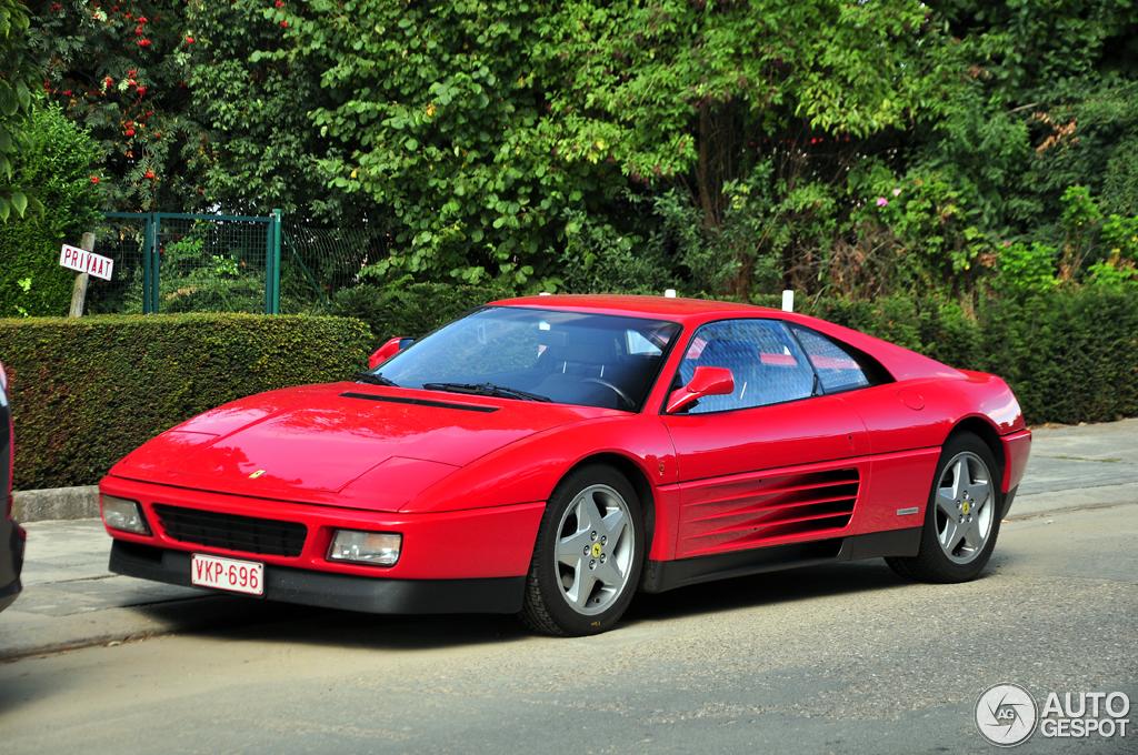 Matte Red Car >> Ferrari 348 TB - 2 September 2013 - Autogespot