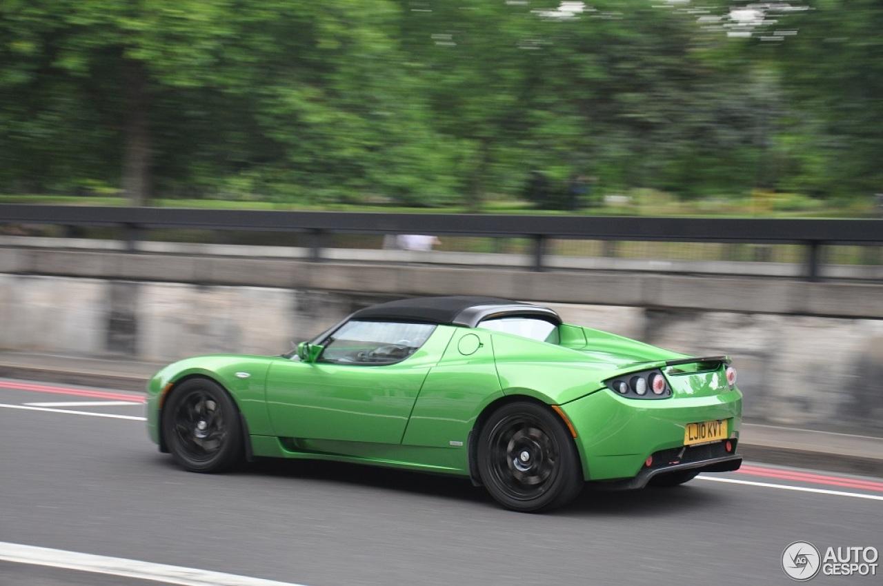 Tesla Motors Roadster Sport 2 September 2013 Autogespot