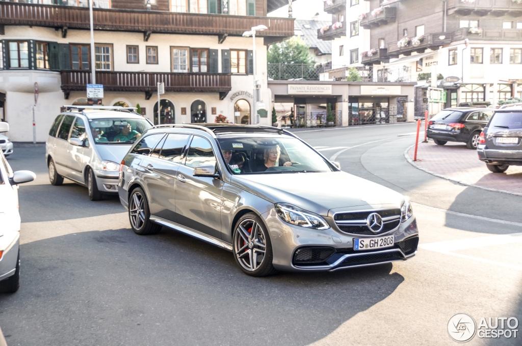 Mercedes Benz E 63 Amg S Estate S212 3 September 2013