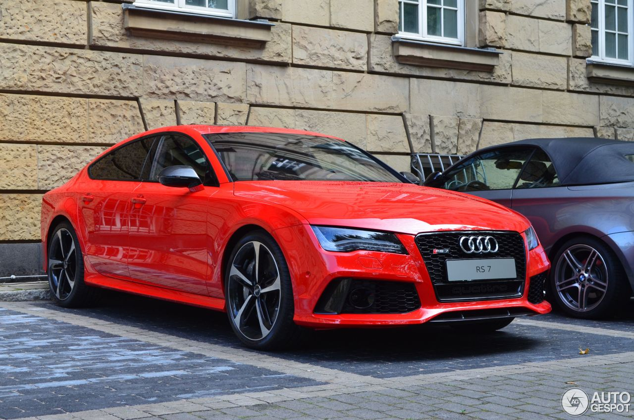 audi rs7 sportback 8 september 2013 autogespot. Black Bedroom Furniture Sets. Home Design Ideas