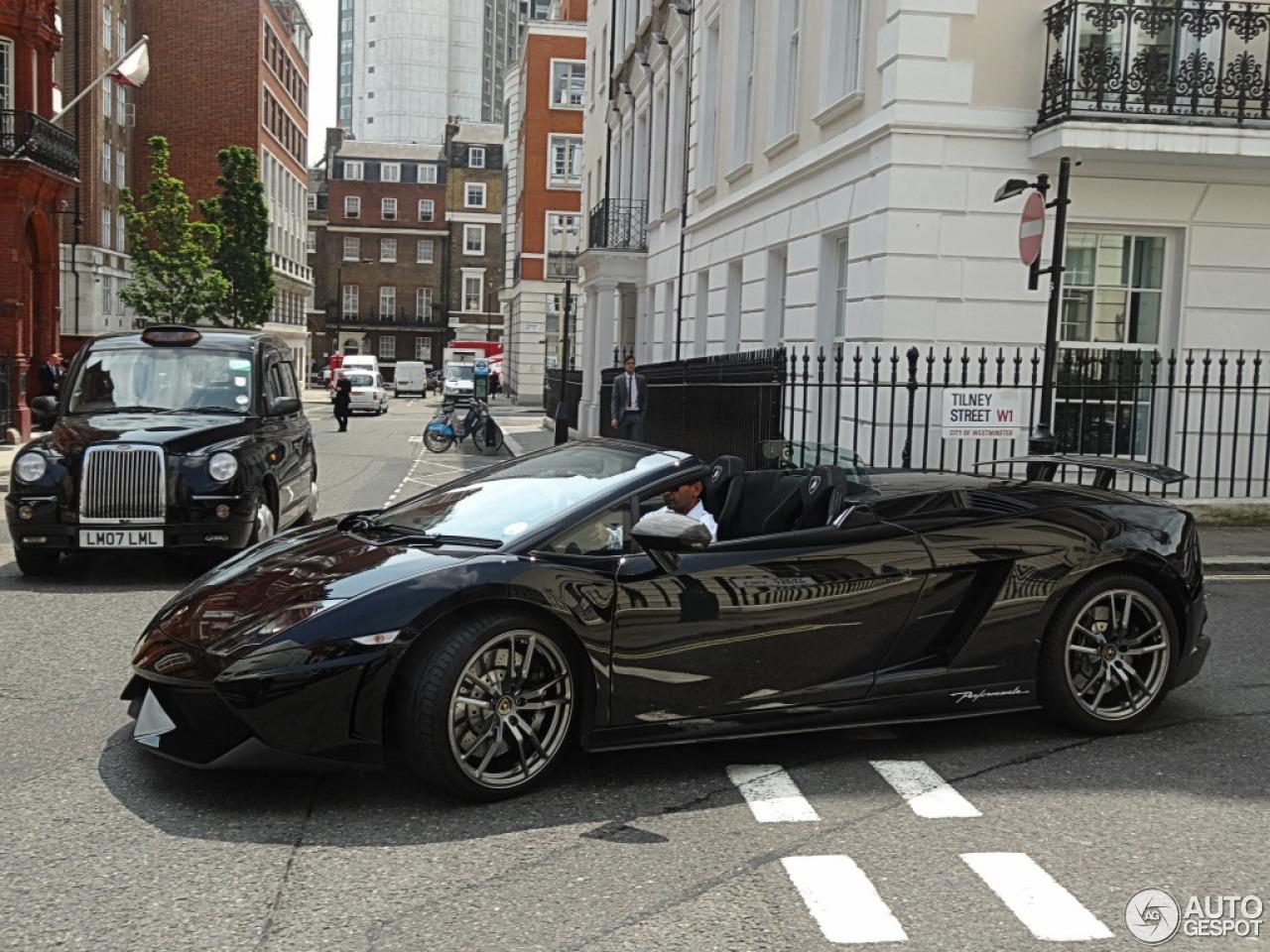 9 i lamborghini gallardo lp570 4 spyder performante 9 - Lamborghini Gallardo Spyder Black 2013