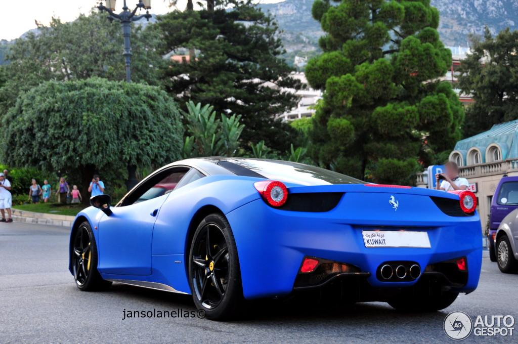 Ferrari 458 Italia 14 September 2013 Autogespot