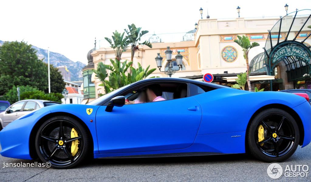 3 i ferrari 458 italia 3 - Ferrari 458 Italia Blue