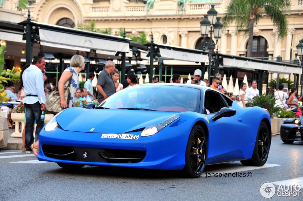 5 i ferrari 458 italia 5 - Ferrari 458 Italia Blue