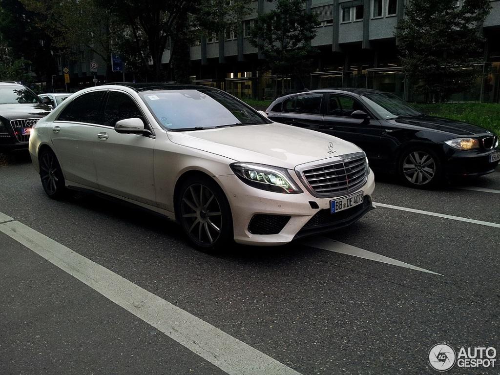 Mercedes benz s 65 amg v222 18 september 2013 autogespot for 2017 amg s 65 mercedes benz