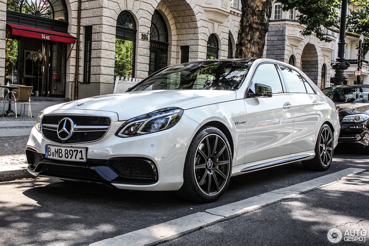 Mercedes Benz E 63 Amg W212 2013 19 September 2013