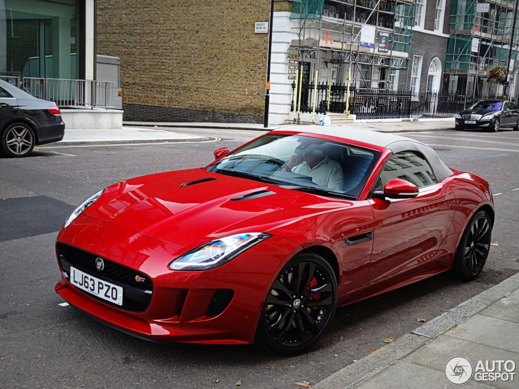 jaguar s f autogespot convertible type september