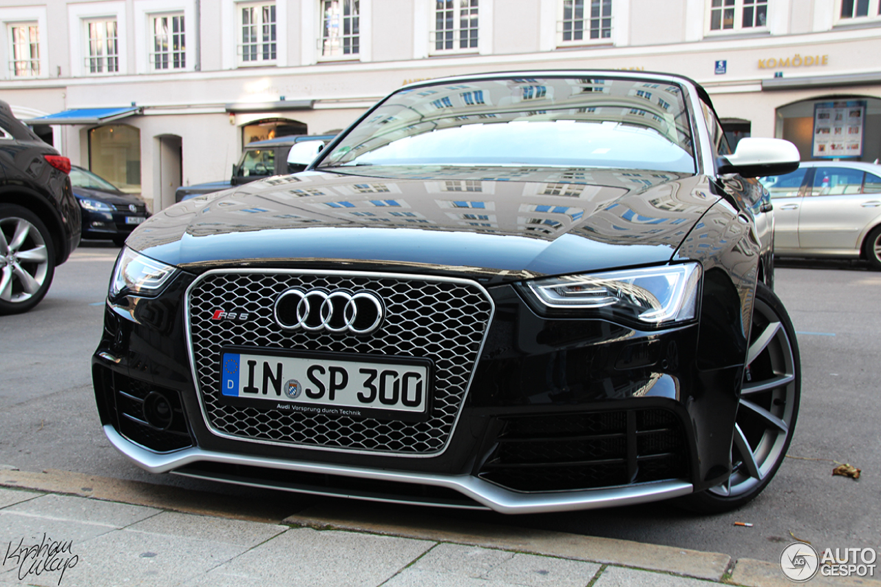 audi rs5 cabriolet b8 2 oktober 2013 autogespot. Black Bedroom Furniture Sets. Home Design Ideas