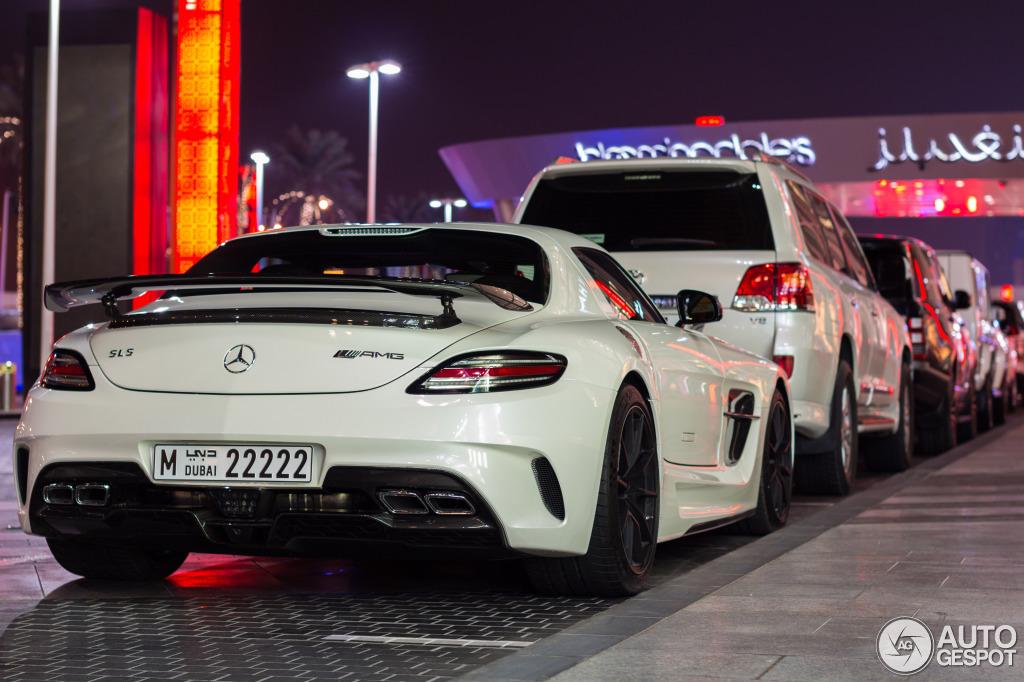 Mercedes-Benz SLS AMG Black Series - 3 octobre 2013 - Autogespot