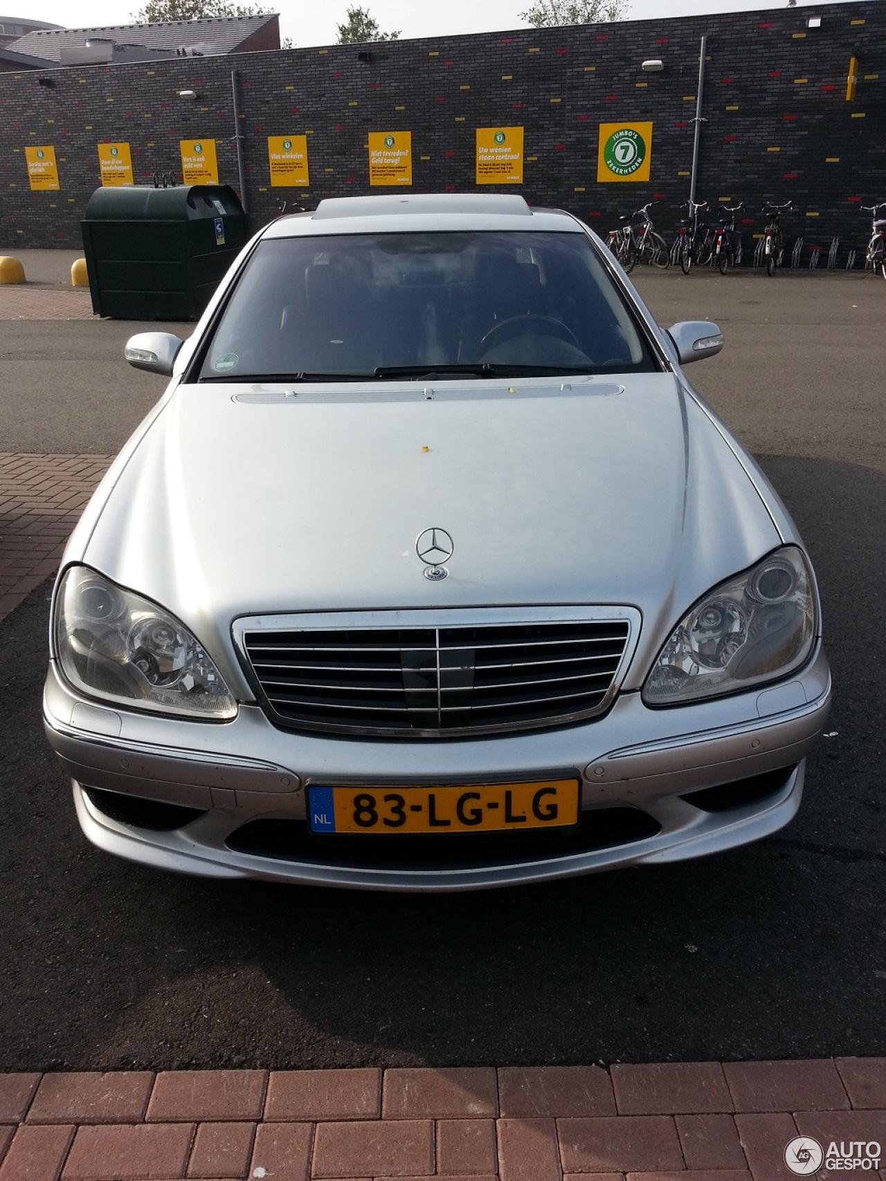 Mercedes benz s 55 amg w220 kompressor 5 oktober 2013 for Mercedes benz amg kompressor