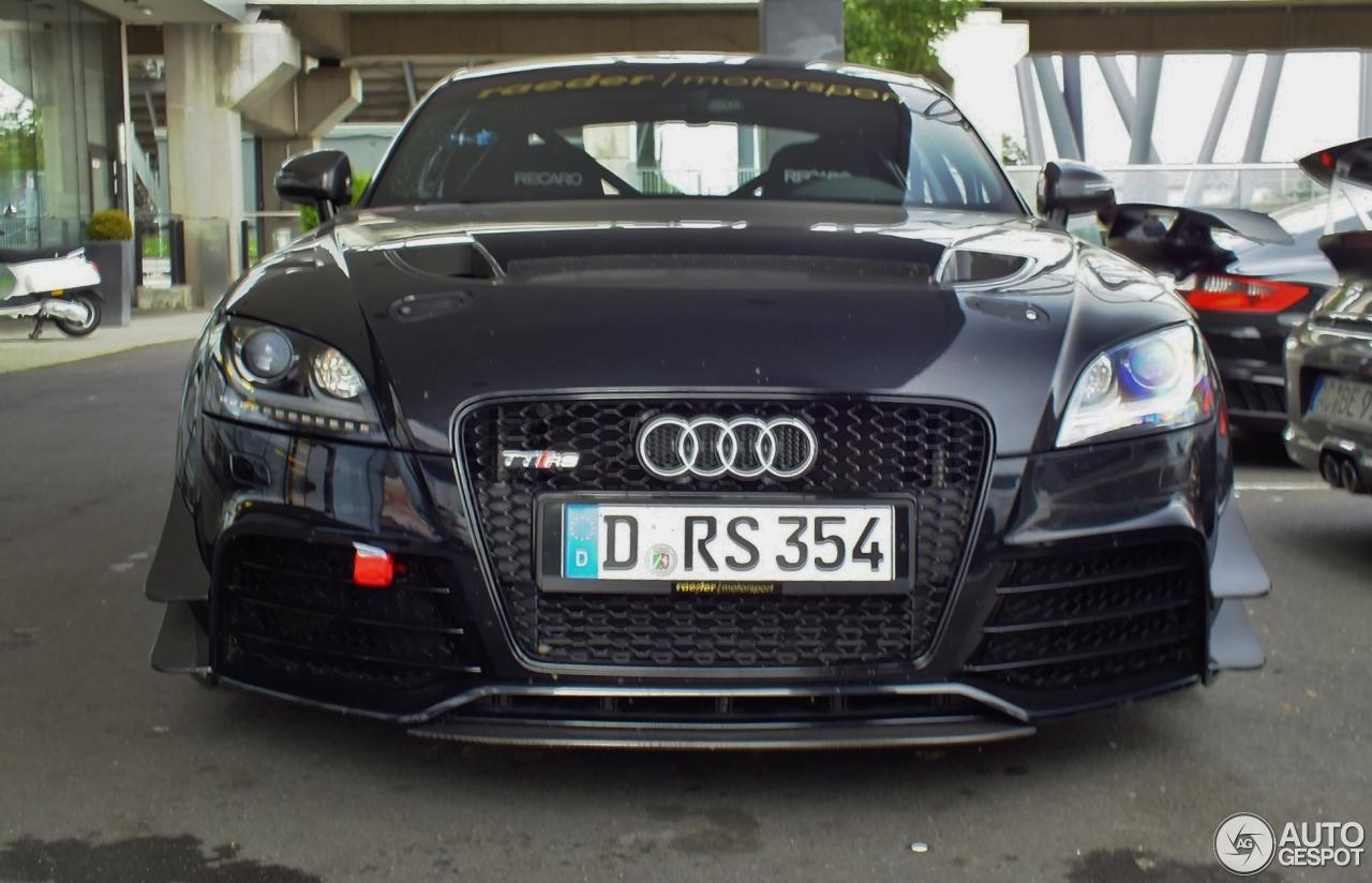 Audi Tt Rs Raeder Motorsport 8 Oktober 2013 Autogespot