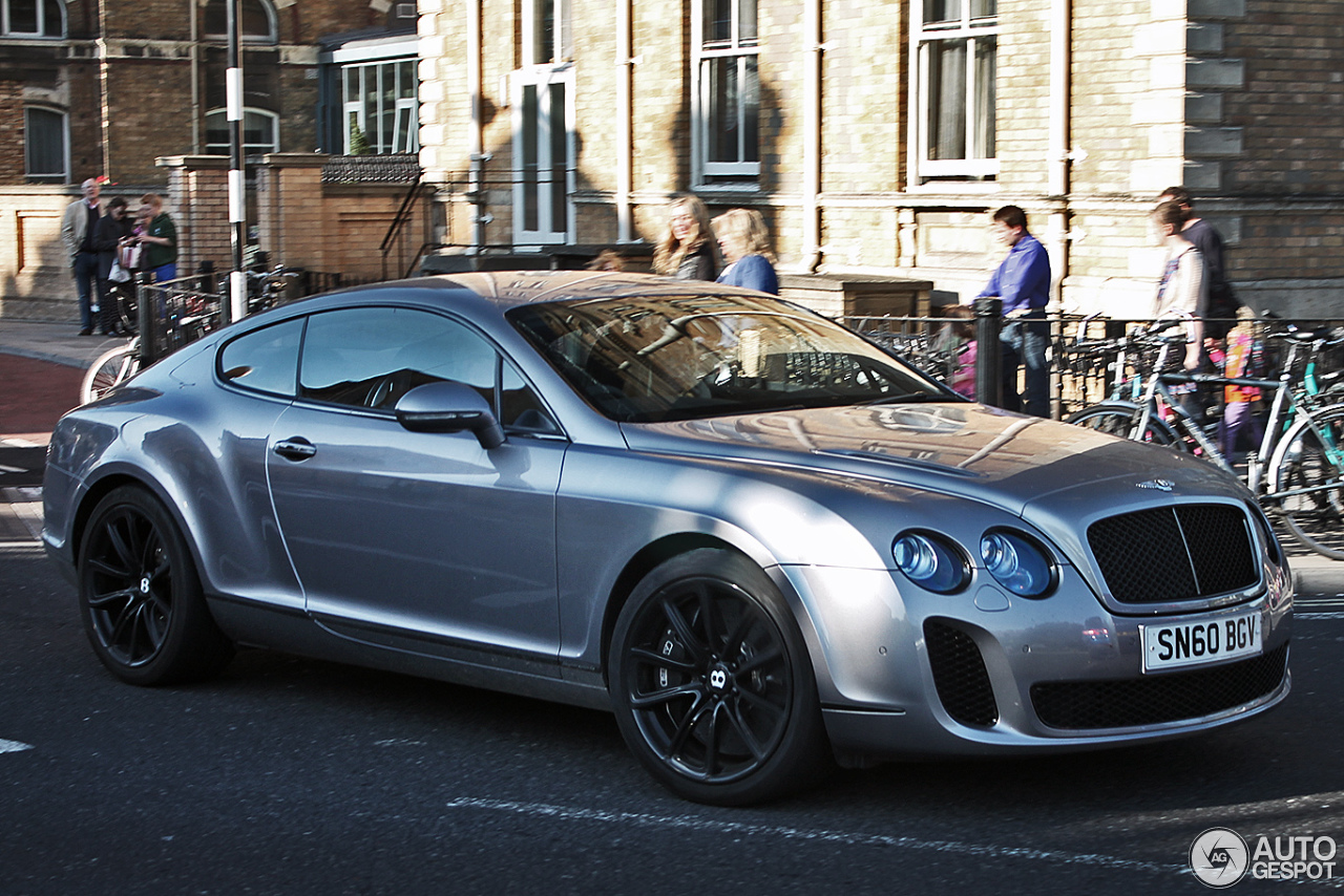 bentley continental supersports coup 10 october 2013 autogespot. Cars Review. Best American Auto & Cars Review