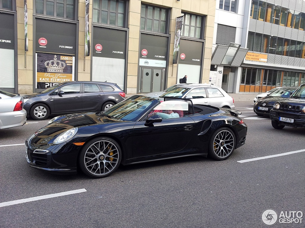 porsche 991 turbo s cabriolet 10 oktober 2013 autogespot. Black Bedroom Furniture Sets. Home Design Ideas