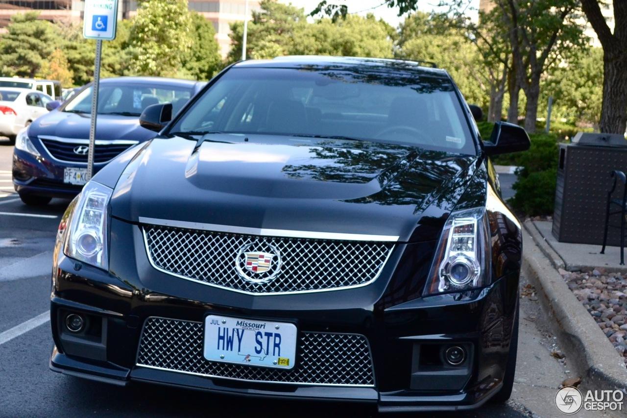 Cadillac cts v mkii 11 october 2013 autogespot