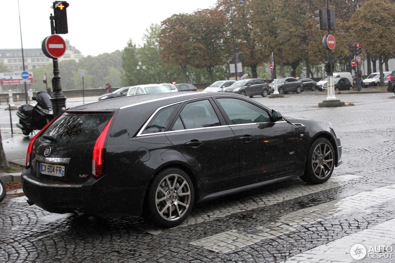 Cadillac Cts V Sport Wagon 11 October 2013 Autogespot