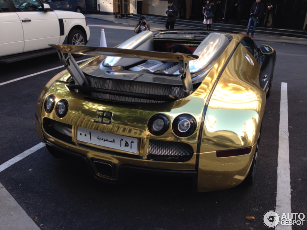 Black And Gold Bugatti 5 i bugatti veyron 16.4 grand