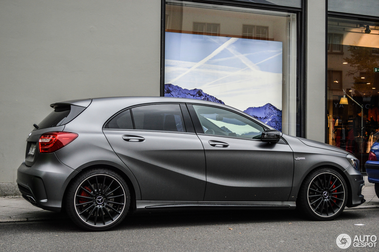 Mercedes Benz A 45 Amg 16 October 2013 Autogespot