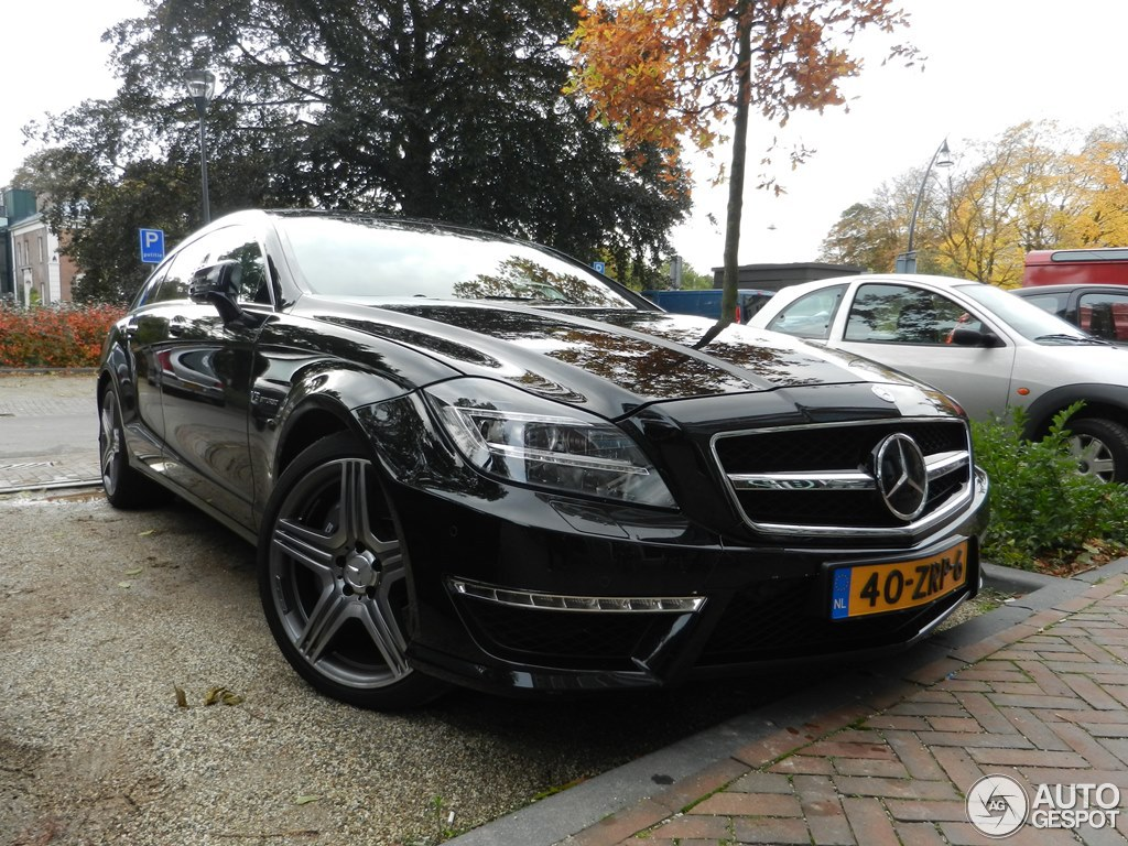 Mercedes benz cls 63 amg x218 shooting brake 21 october for 2013 mercedes benz cls 63 amg