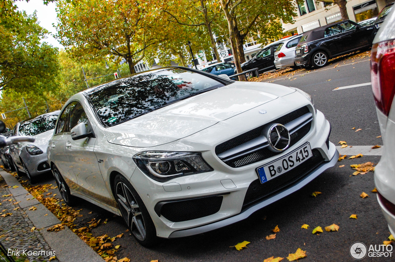 mercedes benz cla 45 amg c117 22 october 2013 autogespot. Black Bedroom Furniture Sets. Home Design Ideas