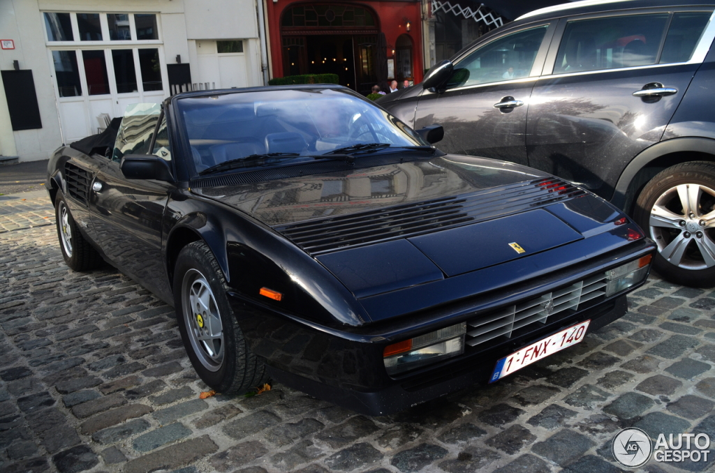 ferrari mondial 3 2 cabriolet 23 october 2013 autogespot. Black Bedroom Furniture Sets. Home Design Ideas